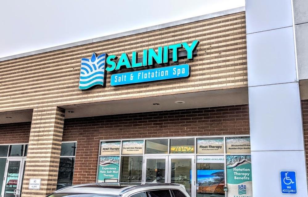 Salinity Salt & Floatation Spa in Overland Park, KS